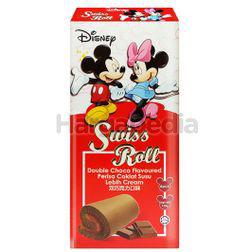 Disney Swiss Roll Double Chocolate 6x20gm