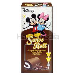 Disney Swiss Roll Chocolate 6x20gm