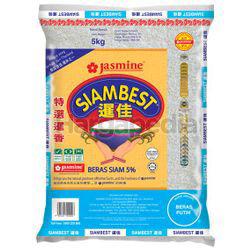 Jasmine Siam Best Siam 5% Rice 5kg