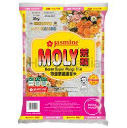 Jasmine Moly Fragrant Rice 5kg