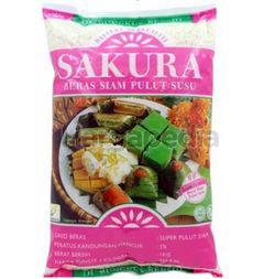 Sakura Beras Siam Pulut Susu 1kg