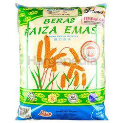 Faiza Emas Import White Rice 5kg