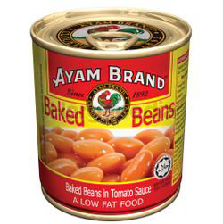 Ayam Brand Baked Bean in Tomato Sauce 230gm