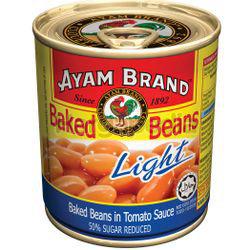 Ayam Brand Baked Bean Light in Tomato Sauce 230gm