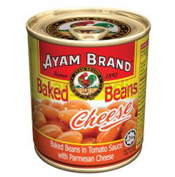 Ayam Brand Baked Bean Cheese in Tomato Sauce 230gm