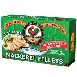 Ayam Brand Mackerel Fillet In Extra Virgin Olive OIl 125gm