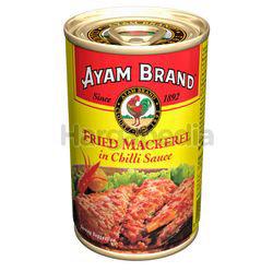 Ayam Brand Fried Mackerel In Chillis Sauce 155gm