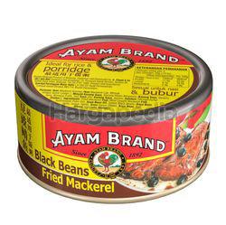 Ayam Brand Fried Mackerel With Black Beans 150gm