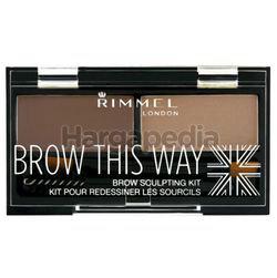 Rimmel Brow This Way Eyebrow Sculpting Kit 1s