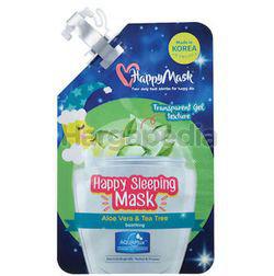 Happy Mask Happy Sleeping Mask Aloe Vera & Tea Tree 1s