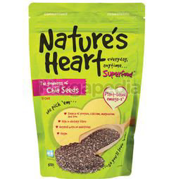 Nature's Heart Chia Seeds 500gm