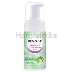 Betadine Feminine Wash Foam Pump Fresh and Active 100ml