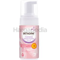 Betadine Feminine Wash Foam Pump Moist Calendula 100ml