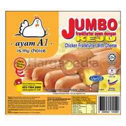 Ayam A1 Jumbo Cheese Frankfurter 300gm