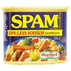 Hormel Foods Spam Less Sodium 340gm