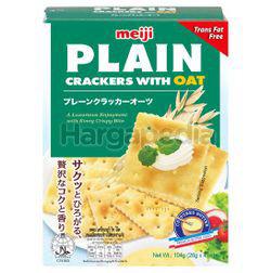 Meiji Plain Crackers With Oat 104gm