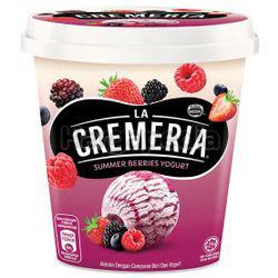 La Cremeria Ice Cream Summer Berries Yogurt 750ml