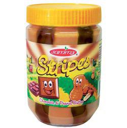 Jammy Stripes Peanut Butter Chocolate 510gm