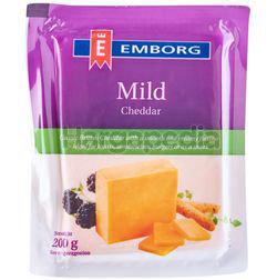 Emborg Cheddar Colour Mild 200gm