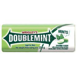 Wrigley's Doublemint Sugarfree Mints Spearmint 23.8gm