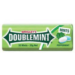 Wrigley's Doublemint Sugarfree Mints Peppermint 23.8gm