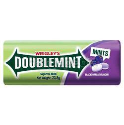 Wrigley's Doublemint Sugarfree Mints Blackcurrant 23.8gm
