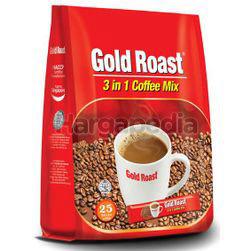 Gold Roast 3in1 Coffee Mix 25x20gm