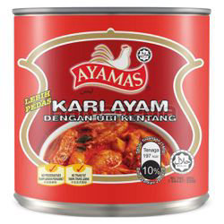 Ayamas Extra Spicy Chicken Curry With Potato 280gm