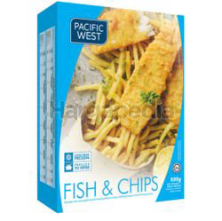 Pacific West Fish & Chips 500gm