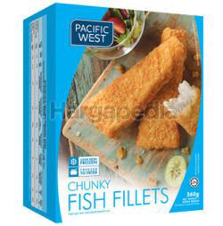 Pacific West Chunky Fish Fillet 360gm