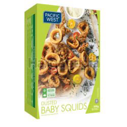 Pacific West Dusted Baby Squids 300gm