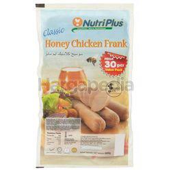 Nutriplus Classic Honey Chicken Frank 900gm