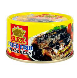 Rex Fried Fish With Black Beans 150gm