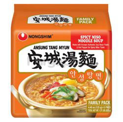 Nong Shim Spicy Miso AnSungTangMyun Noodle Soup 5x125gm
