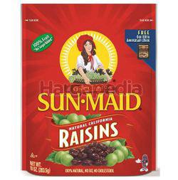 Sunmaid California Raisins Zip Bag 283.5gm