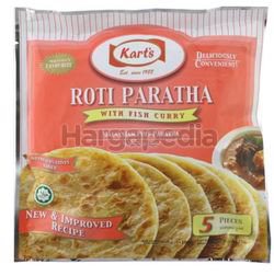 Kart's Roti Paratha With Fish Curry 5x75gm