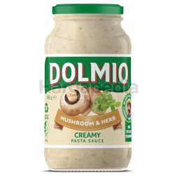 Dolmio Mushroom & Herb Pasta Sauce 490gm
