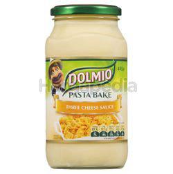Dolmio Pasta Bake Three Cheese Sauce 490gm