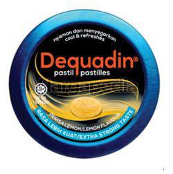 Dequadin Pastilles Extra Strong Lemon 46gm
