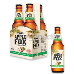 Apple Fox Apple Bottle Cider 4x325ml