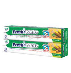 Fresh & White Toothpaste Kayu Sugi  2x225gm