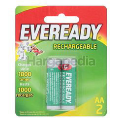 Eveready Rechargeable Batteries 2AA