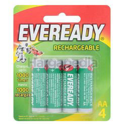 Eveready Rechargeable Batteries 4AA