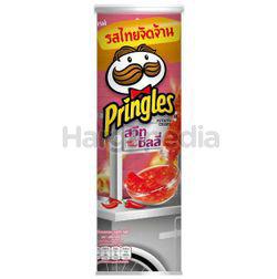 Pringles Potato Crisps Sweet Chilli 107gm