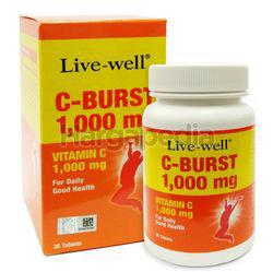 Live-Well C-Burst 1000mg 30s