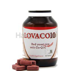Lovaco Red Yeast Rice with Co-Q10 50mg 60s