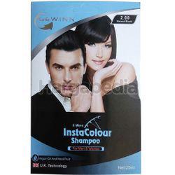 Gewinn Insta Colour Shampoo Natural Black  3s+1s