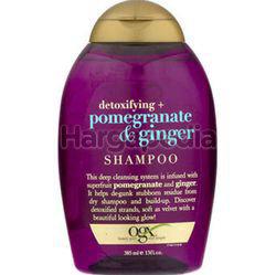 OGX Detoxifying +  Pomegranate & Ginger Shampoo 385ml
