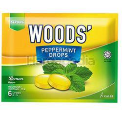 Woods's Peppermint Drops Lemon 15gm 6s
