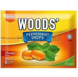 Woods's Peppermint Drops Orange 15gm 6s